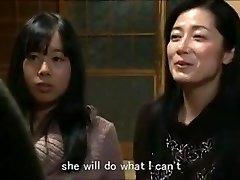 Jap mom daughter keeping mansion m80 gimps