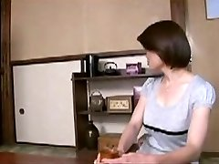Japanese Mom Comforts Young Stud...F70