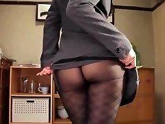 Shou nishino soap superb woman pantyhose rump whip ru nume
