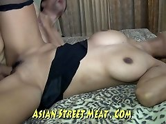 Skank Asian Wenchith Wobbly Boobies