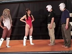 Asian Female Dominance Camel Clutch Submission and Ponyboy