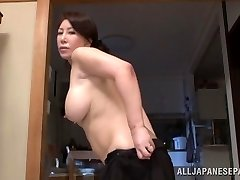 Wako Anto hot mature Japanese babe in posture 69