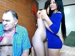 Asian GF Gargle Lick