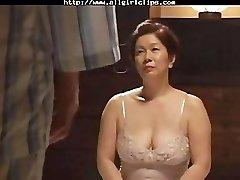 Japanese Lesbian girly-girl girl on damsel lesbians