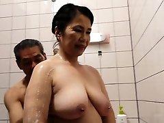 Hairy Fuckbox Japanese Granny Michiko Okawa
