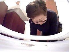 Japanese covert rest room camera in restaurant (#54)