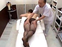 Massage Pantyhose Manhandle