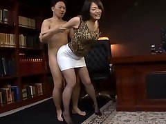 Japanese Office Biotch Fucked Hard