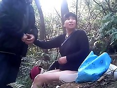 Chinese Prostitute Getting The Job Done Bareback