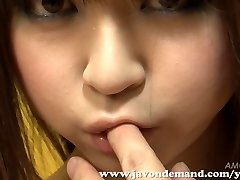 Cutie Mahiru Hino Masturbated Until She Blasts