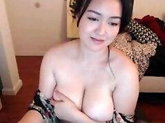 Curvy Asian With Big Natural Tits 2