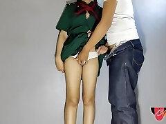 L3lackrose - School Thai College Girl Sista Boink Internal Ejaculation ชวuuักเรียuมาติวnuังสือnลังเลิกเรียu