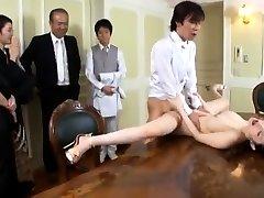 Big breasts slut sex in public