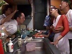 Horny inexperienced Fishnet, Gangbang xxx clip