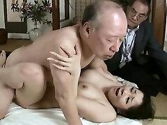 Gonzo grandpa fucks young babe