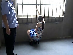 Chinese Chick In Prison