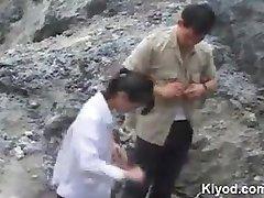 Chinesischen outdoor-sex