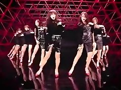 hot Korean girls dance glamour