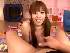 Amazing Japanese model Rina Rukawa in Incredible College, POV JAV scene
