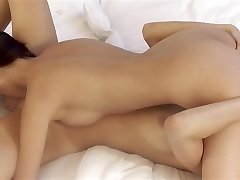 Christy Enthralling and Kitty Jane - cute lesbians sixty-nine