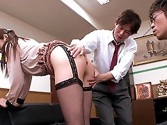 Sexy Chinese whore Hina Akiyoshi in Hottest JAV censored Office, Monstrous Tits video