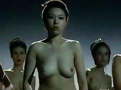 Nude China girls  fighting