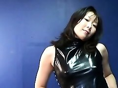 Asian mature super-bitch getting real randy on her own
