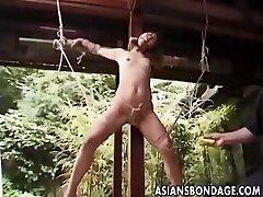 Japanese Restrain Bondage outdoor (uncensored)