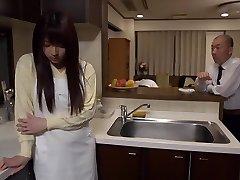 Exotic Japanese bitch Shiori Kamisaki in Crazy fingering, rimming JAV gig