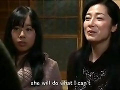 Jap mother daughter-in-law keeping house m80 subs