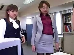 CFNM - Femdom - Abasement - Japanese Girls in Office