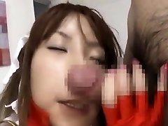 Asian AV star Sumire Matsu horny nosejob Subtitled