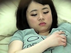 Chubby asian snooped on