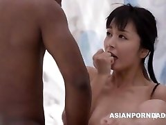 Chinese fuck by 2 black dicks - ASIANPORNDADD