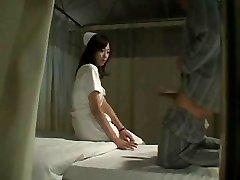 Hot Japanese Nurse Plows Patient