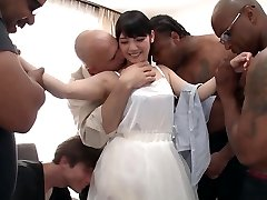Rei Mizuna in Rei Does Her First-ever Interracial Gang-fuck - TeensOfTokyo
