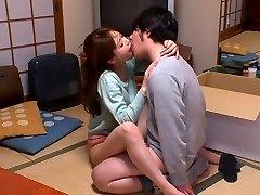 Karstākie Japāņu prostitūta Akiho Yoshizawa Horny virtuves, pāris JAV skatuves