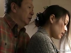 Mina Kanamori hot Chinese milf is a wild housewife