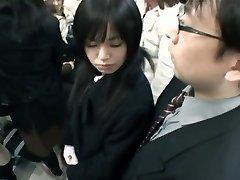 Japanese Hand-job Metro 02
