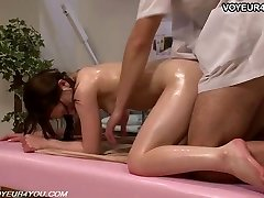 Japanese Nymph Gets Body Massage Sex