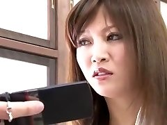 Crazy Japanese woman Yuna Shiina in Fabulous Duo, Close-up JAV pin