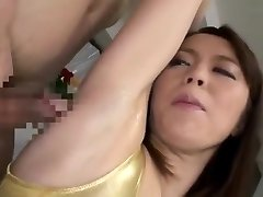 underarm lick and jizz to model girl
