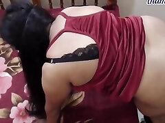 Desi Busty Plus-size Aunty Fucking With Devar 06