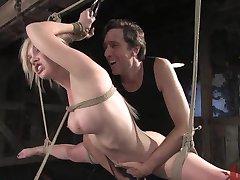 Rough BDSM Threesome