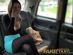 FakeTaxi Stunning light-haired with huge tits