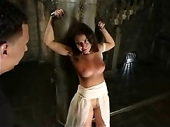 More whipping for a sexy victim