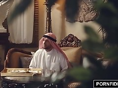 PORNFIDELITY Nadia Ali Rough Muslim Penalty Fuck-a-thon