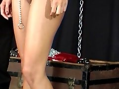 Master play with dame sex slave