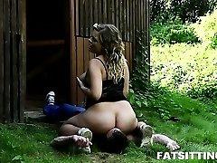 Sweet lush Lenka gets wild during rough facesitting sex