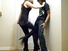 Ballbusting - Teenage Brutal Rapid Kneeing!!
